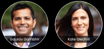 Gaurav Gambhir / Kate Gledhill